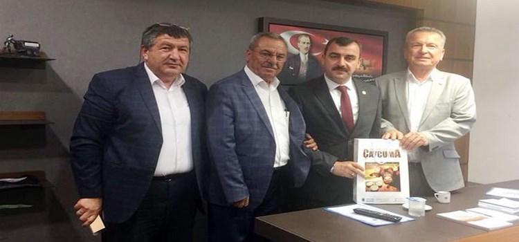 Belediye Başkanları milletvekillerini ziyaret etti