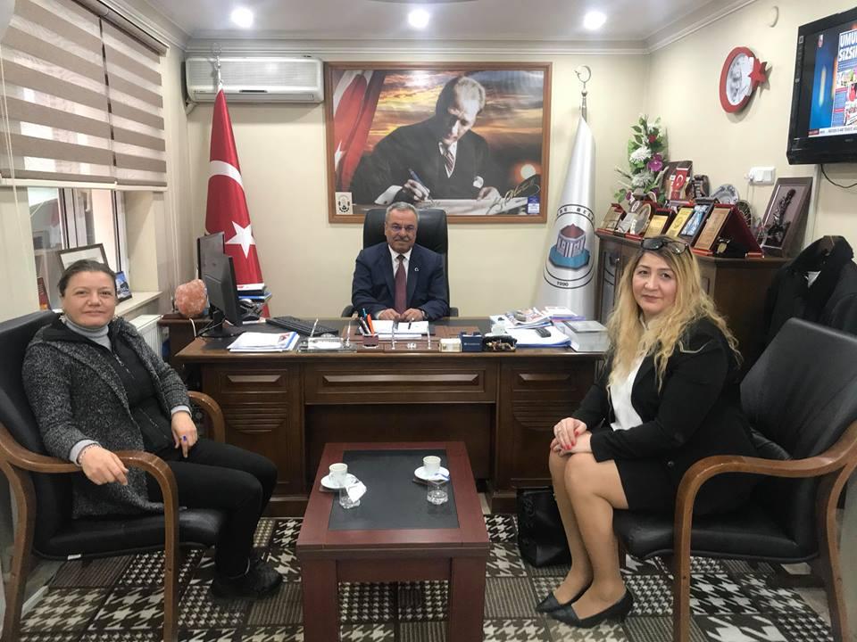 AVRUPA ZONGULDAKLILAR DERNEĞİNDEN PERŞEMBE BELEDİYESİNE ZİYARET...